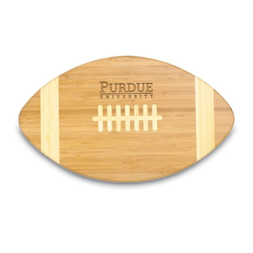 Purdue Boilermakers Engraved Football Cutting Board