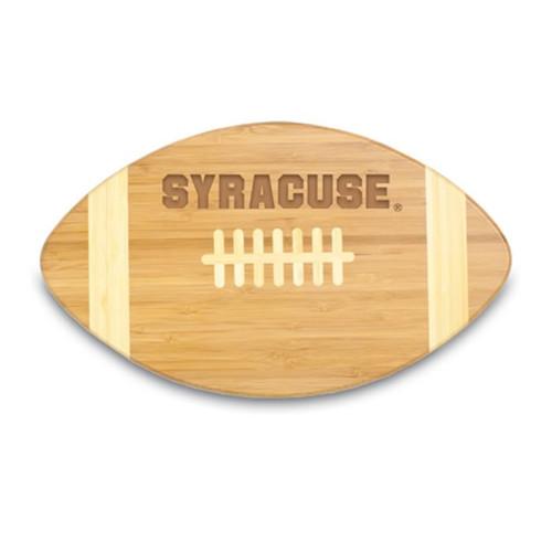 Syracuse Orangemen Engraved Football Cutting Board