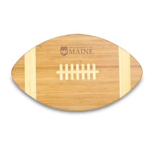 Maine  Black  Bears Engraved Football Cutting Board