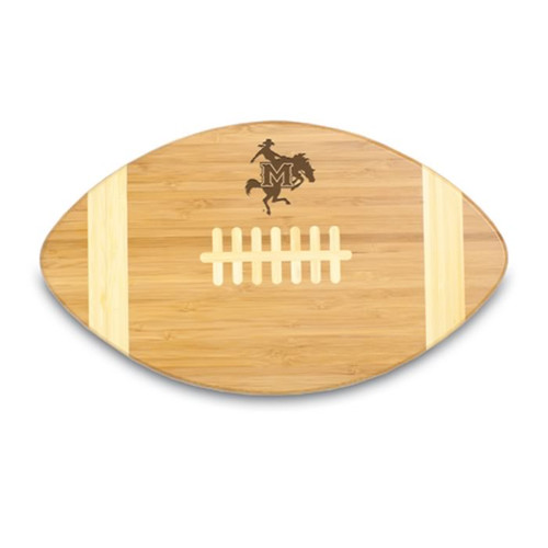 McNeese State Cowboys Engraved Football Cutting Board