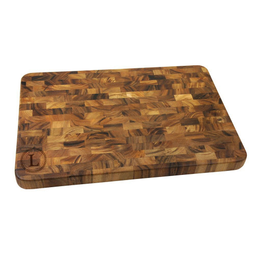 Celtic Circle Personalized Large End Grain Cutting Board