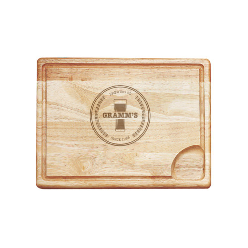 Classic Brewery Personalized Carving Board