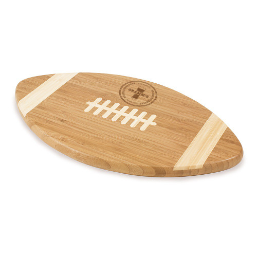 Classic Brewery Personalized Football Cutting Board