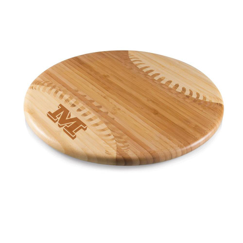 Vienta Initial Personalized Baseball Cutting Board