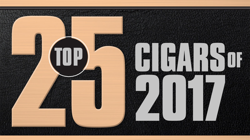Top 25 Cigars of 2017 by Cigar Aficionado