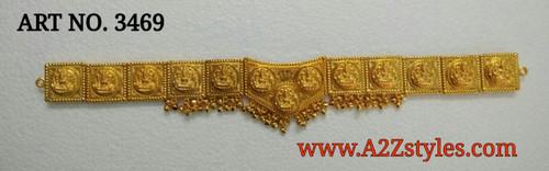 Gold Belt DJ-GLDBLT-BVSHAPE-3469