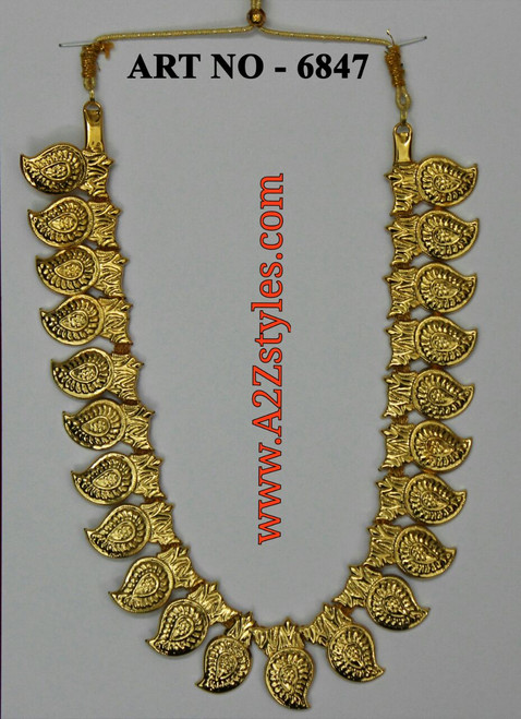 Gold Mango Short Chain DJ-SGM-4519