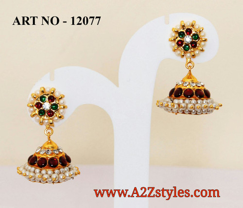 Earrings & Jumki DJ-JUM-12077