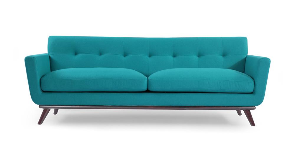 Jackie Sofa, Turquoise
