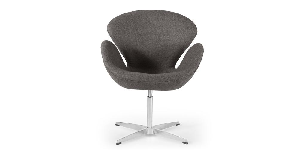 Trumpeter Chair, Cadet Grey Cashmere
