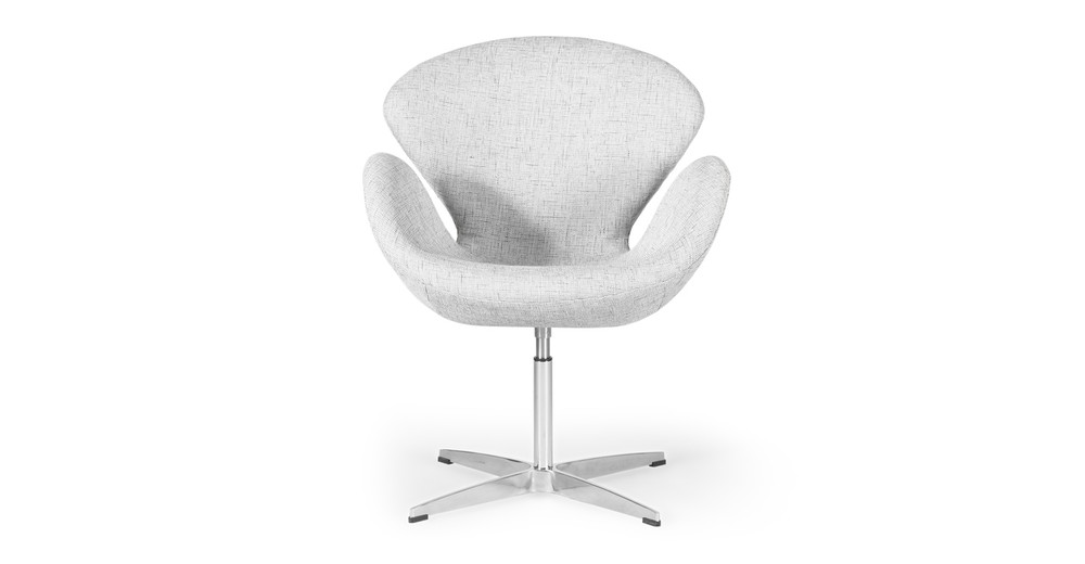 Trumpeter Chair, Dacite Twill