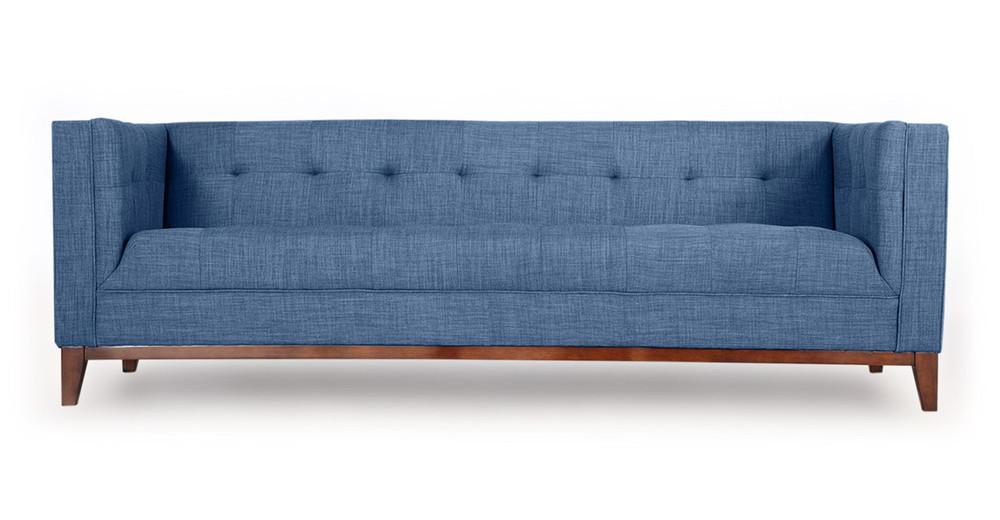 Harrison Sofa, Blue Curacao