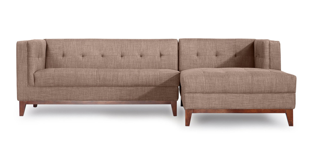 Harrison Chaise Sectional-Right Face, French Press