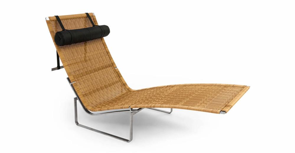 PK24 Lounge Chair, Rattan
