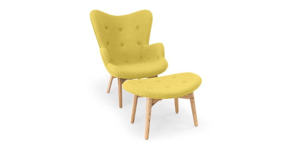 Contour Chair Amp Ottoman Dijon Kardiel
