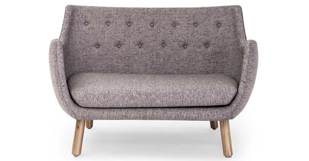 1946 Parlor Sofa, Deco Grey