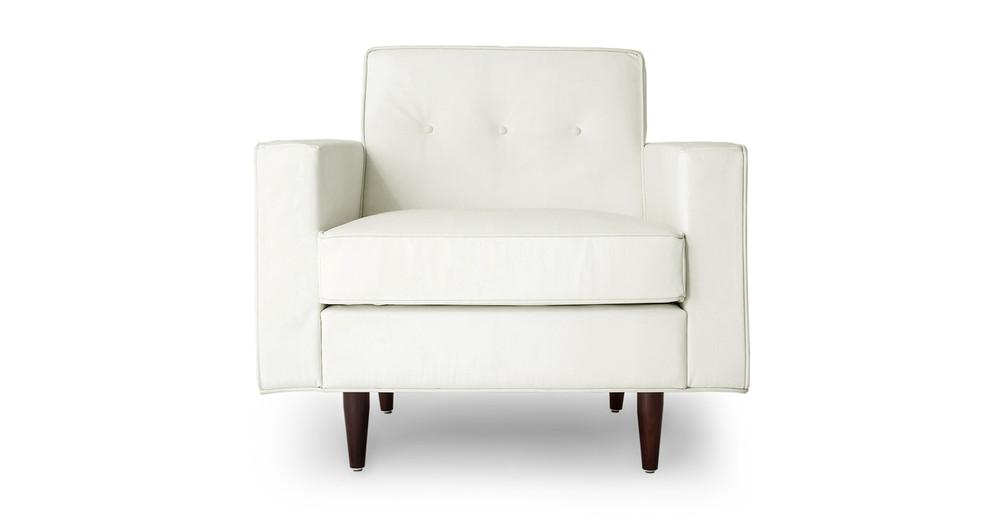 Eleanor Chair, Arctic White