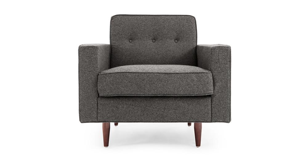 Eleanor Chair, Cadet Grey