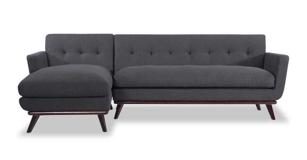 Jackie Sofa Sectional Left, Urban Ink