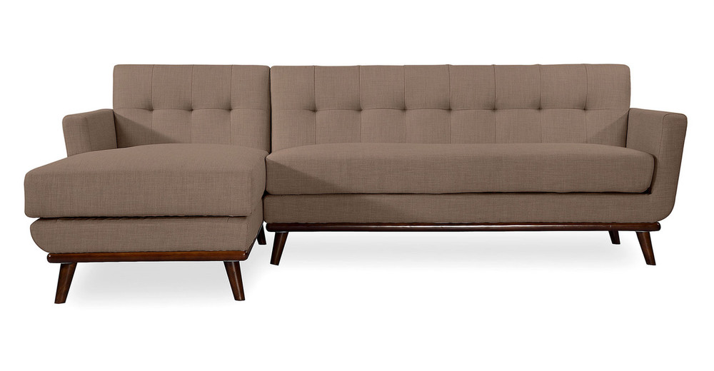 Jackie Sofa Sectional Left, French Press