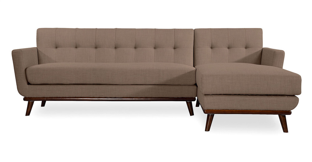 Jackie Sofa Sectional Right, French Press