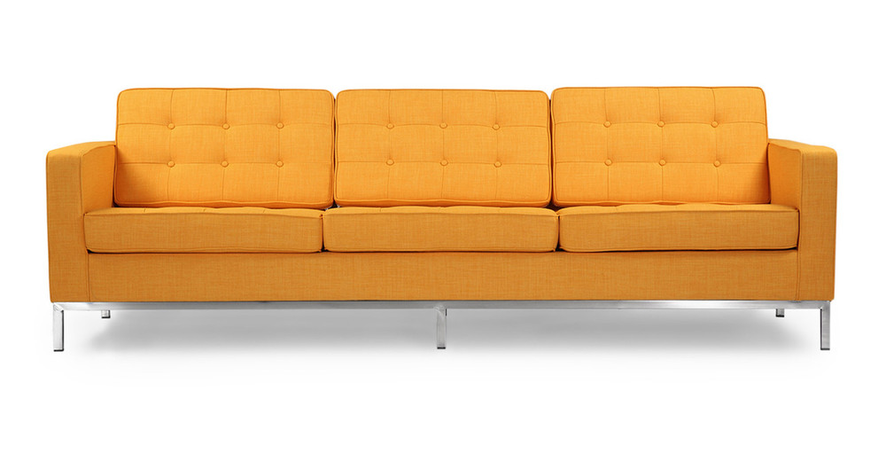 Florence Sofa, Citrus Pop Twill