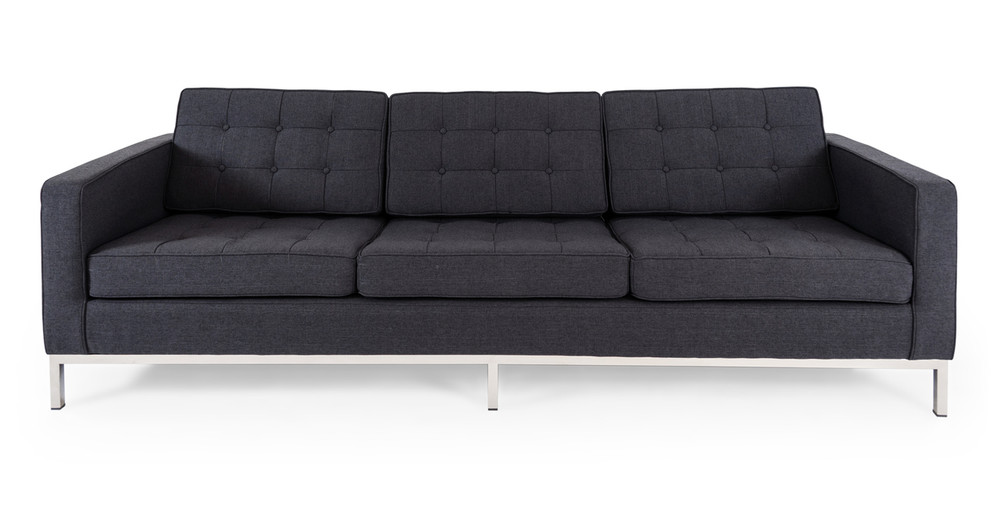 Florence Sofa, Urban Ink Twill