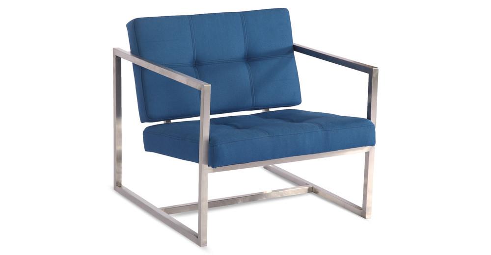 Cube Chair, Sapphire
