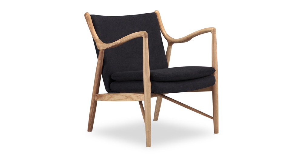 Copenhagen 45 Armchair, Urban Ink/Natural