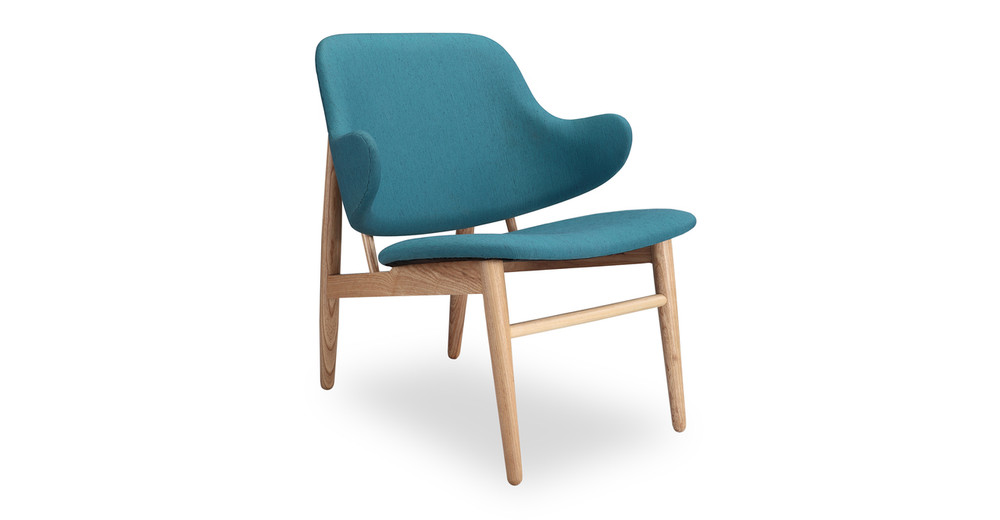 Larsen Shell Chair, Urban Surf/Ash