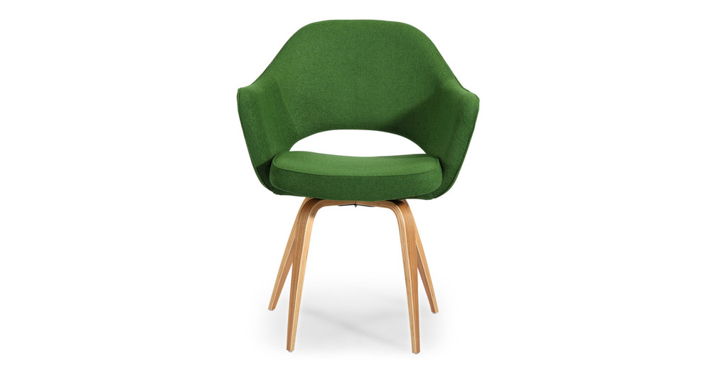 Saarinen 71 Exec Arm Chair, Apple Green