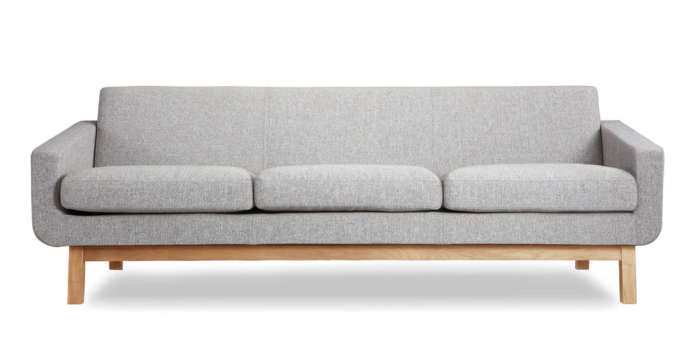 Platform Sofa, Urban Pebble/Natural