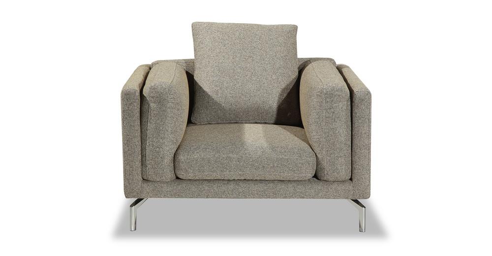Basil Loft Arm Chair, Oatmeal