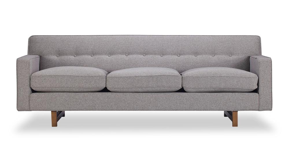 Kennedy Sofa, Urban Pebble