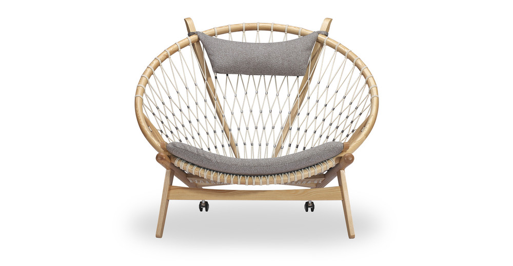 Circle Hoop Chair, Urban Pebble/Ash