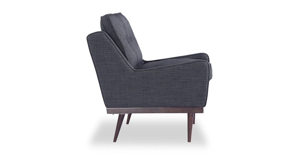 Great ... Elektra Armchair, Midnight Oil Twill ...