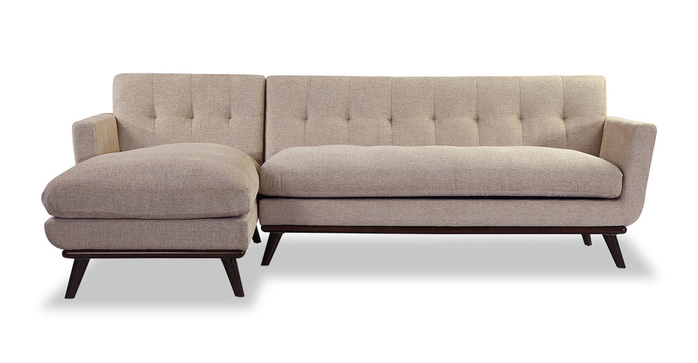 Jackie Sofa Sectional Left, Portobello