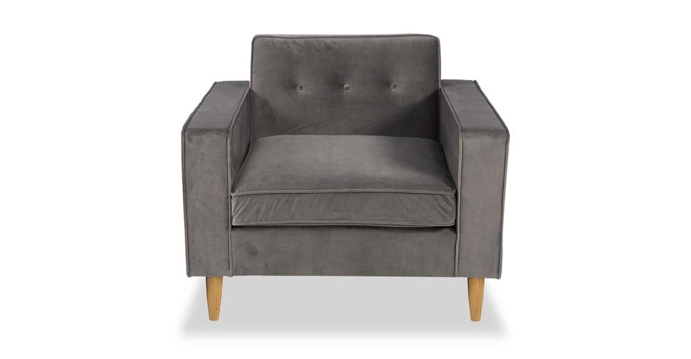 Eleanor Chair, Intuit Velvet