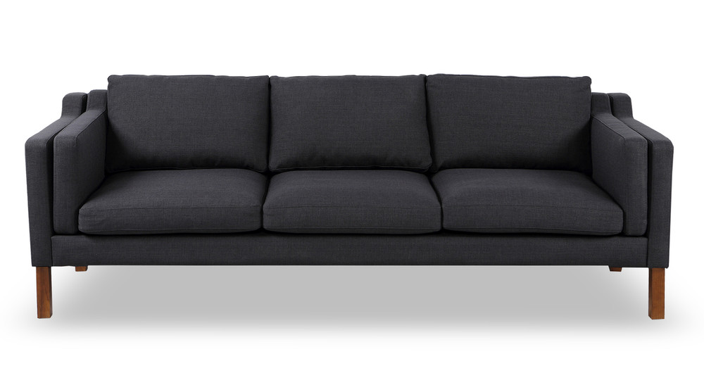 Monroe Sofa, Urban Ink Twill