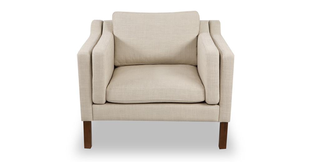Monroe Chair, Urban Hemp Twill