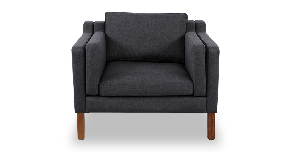 Monroe Chair, Urban Ink Twill