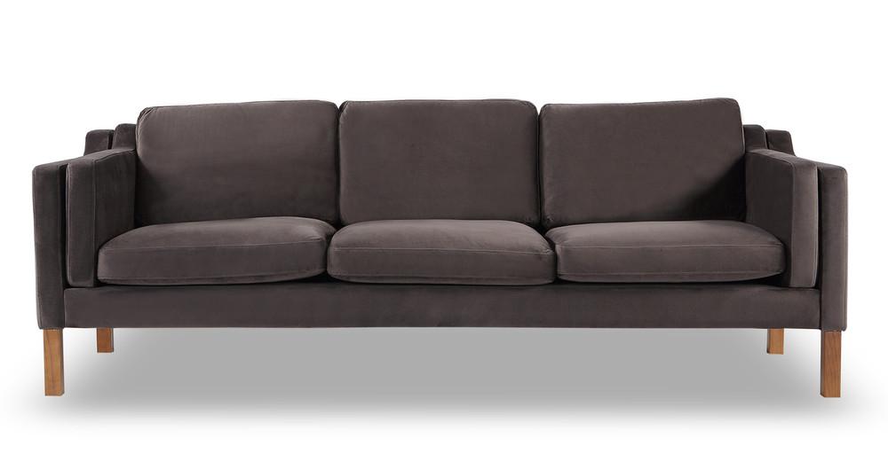 Monroe Sofa, Shadow Velvet