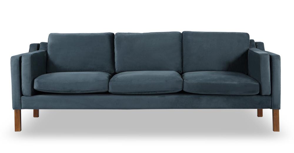 Monroe Sofa, Neptune Velvet