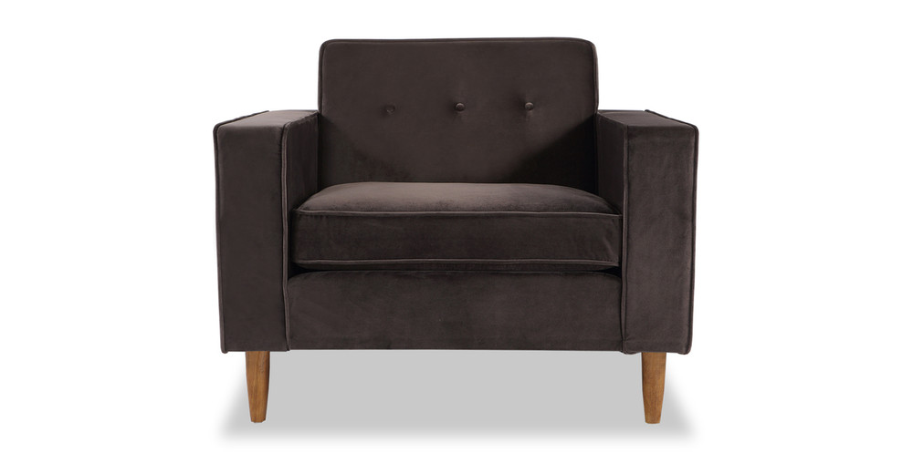 Eleanor Chair, Shadow Velvet