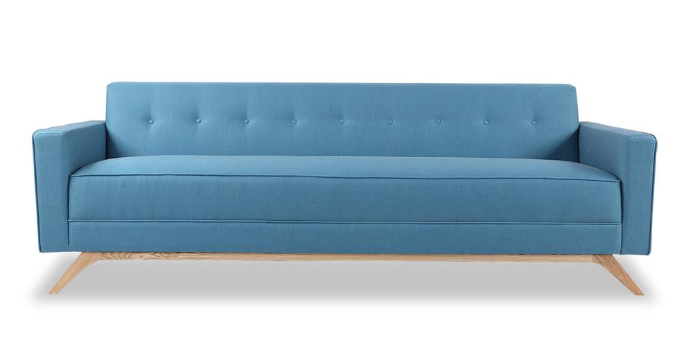 Bauhaus Modern Sofa, Urban Surf