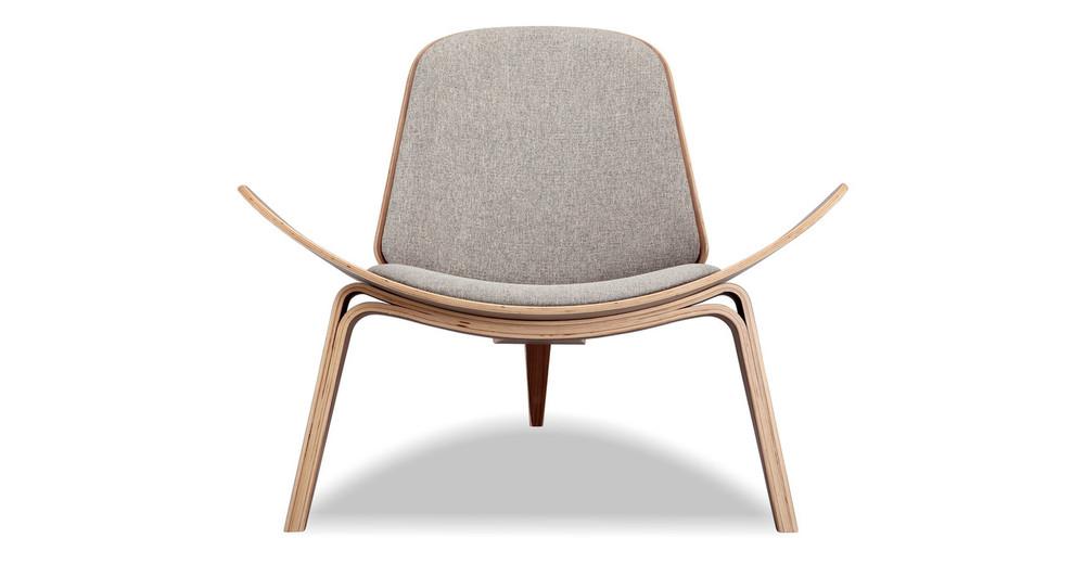Tripod Chair, Potash /Walnut