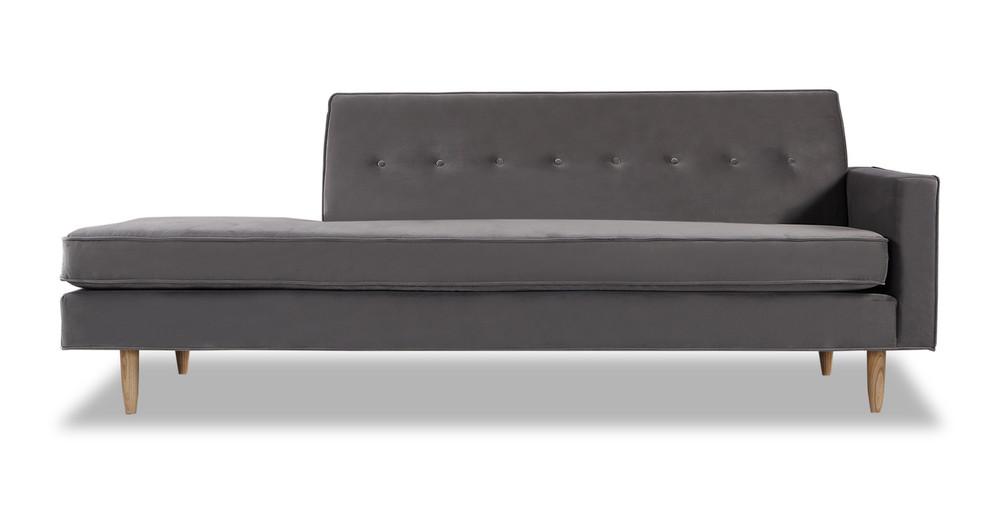 Eleanor Sofa Right, Intuit Velvet