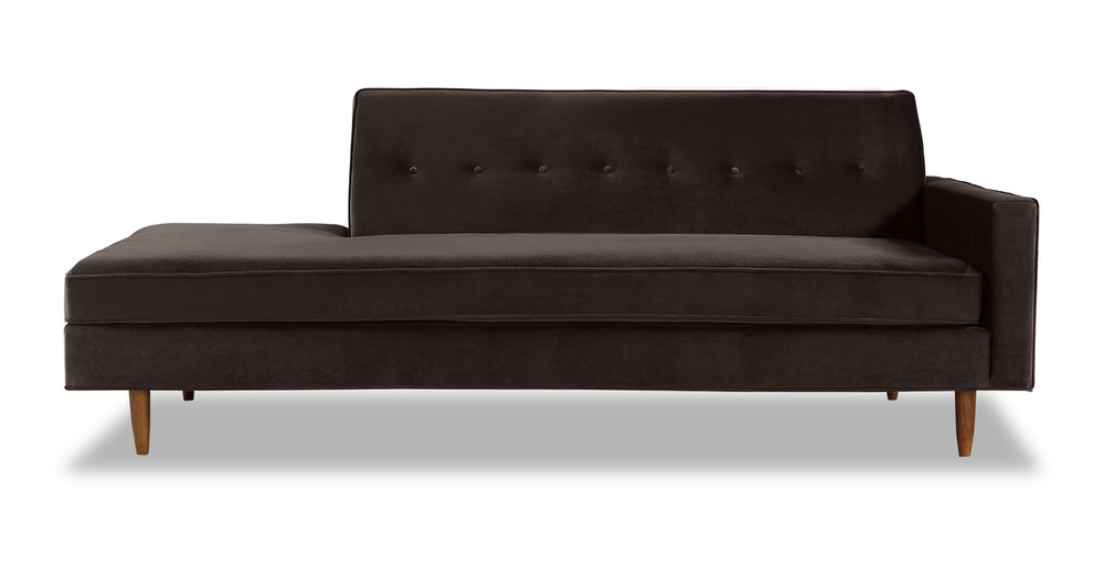 Eleanor Sofa Right, Shadow Velvet