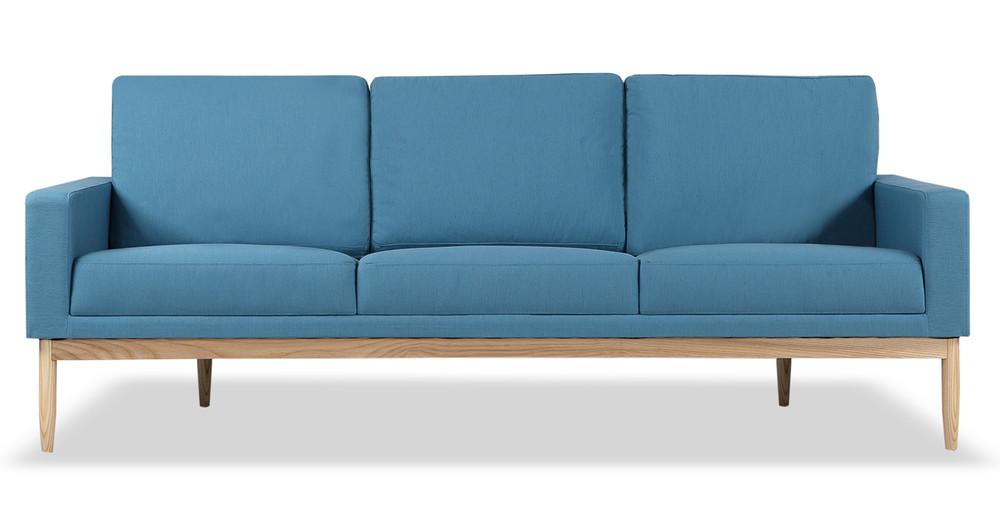 Stilt Danish Mod Sofa, Urban Surf/Ash