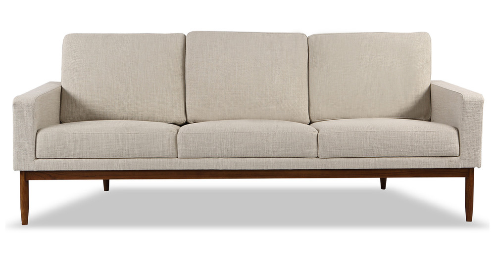 Stilt Danish Mod Sofa, Urban Hemp/Walnut